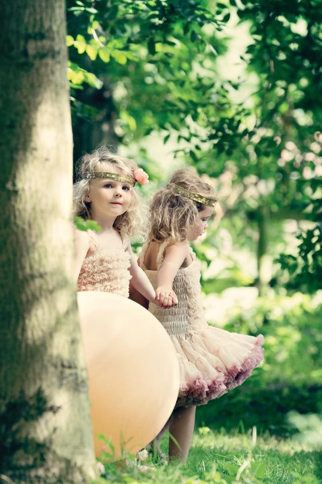 Peaches & Cream Flower Girl Dresses